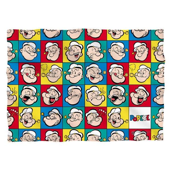 Popeye/Many Moods Pillowcase