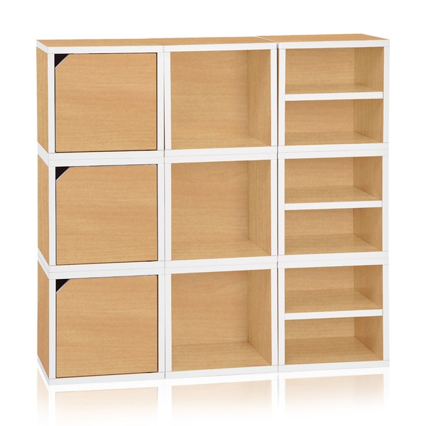Eco Stackable Connect 9 Cube Storage (made from sustainable non-toxic zBoard paperboard) 19680643