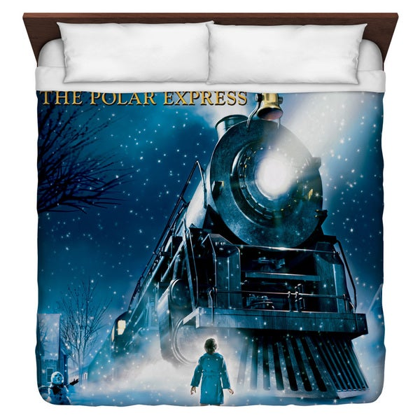 Polar Express/Poster Duvet Cover