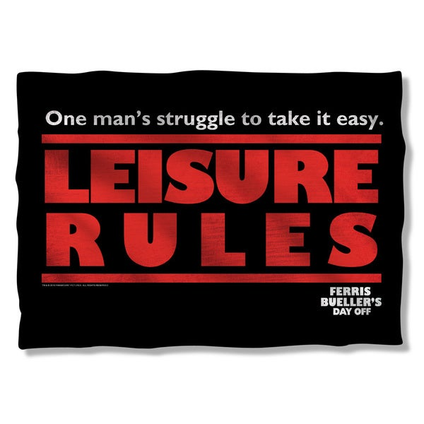 Ferris Bueller/Struggle Pillowcase
