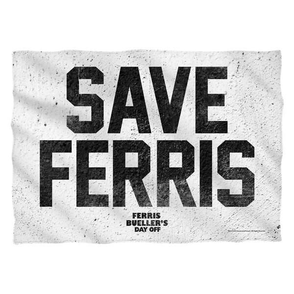 Ferris Buelle/Save Ferris Pillowcase