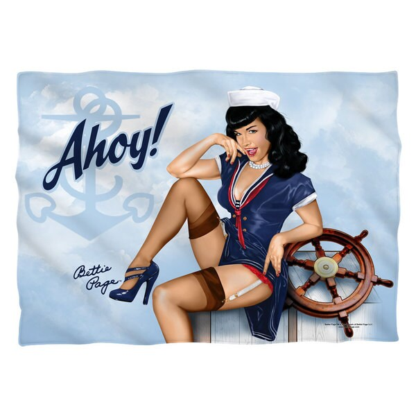 Bettie Page/Ahoy Pillowcase