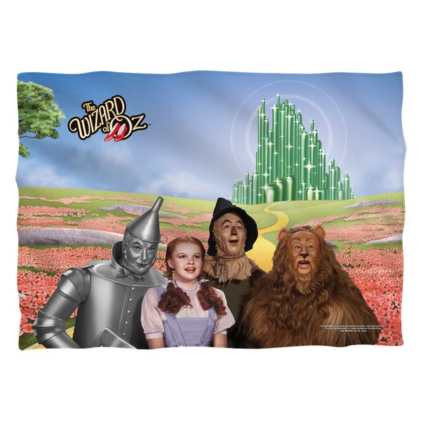 Wizard Of Oz/Emerald City (Front/Back Print) Pillowcase Pillowcase