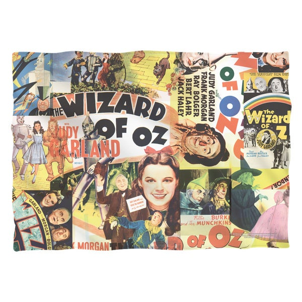 Wizard Of Oz/Collage Pillowcase
