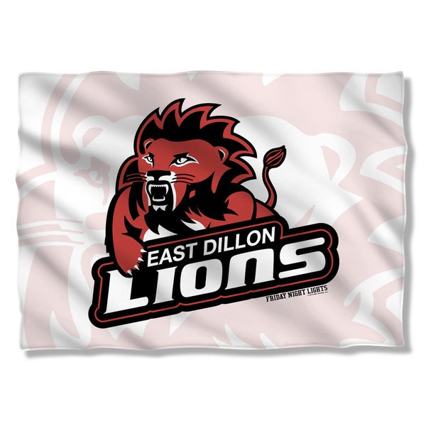 Friday Night Lights/Lions (Front/Back Print) Pillowcase