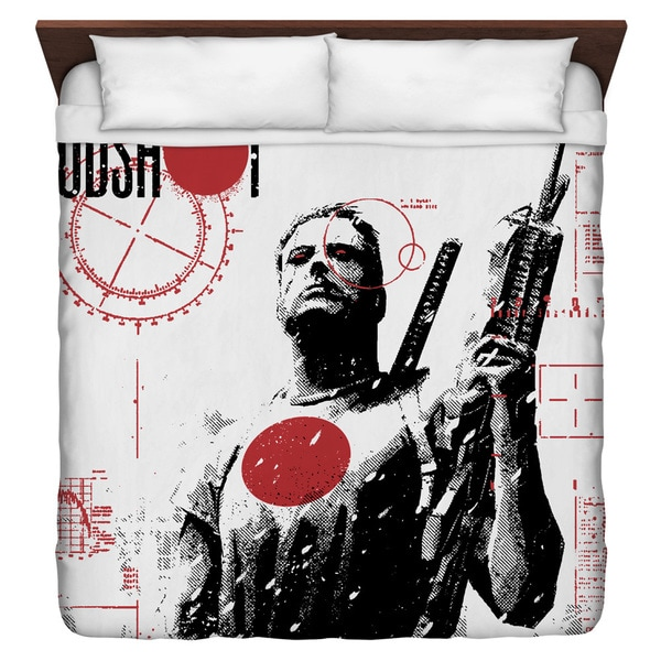 Bloodshot/Take Aim Duvet Cover