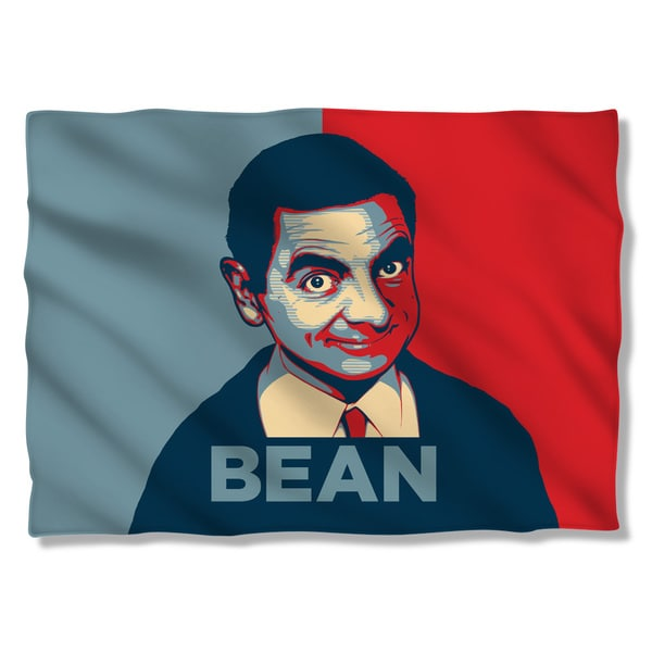 Mr Bean/Poster (Front/Back Print) Pillowcase
