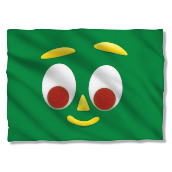 Gumby/Big Face (Front/Back Print) Pillowcase