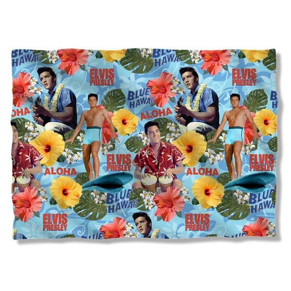 Elvis/Blue Hawaii Pillowcase