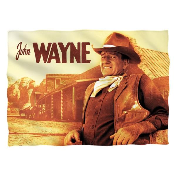 John Wayne/Old West (Front/Back Print) Pillowcase Pillowcase