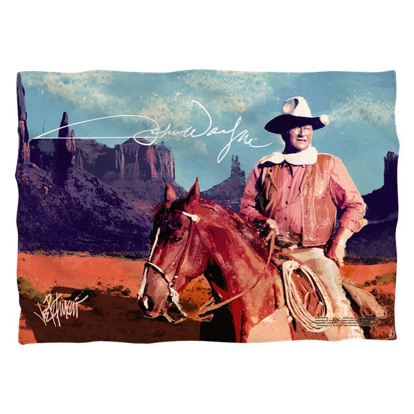 John Wayne/Monument Man Pillowcase