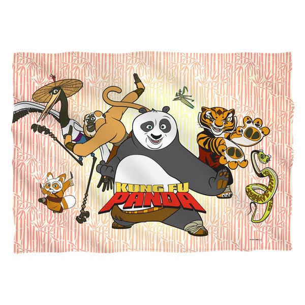 Kung Fu Panda/Kung Fu Group Pillowcase