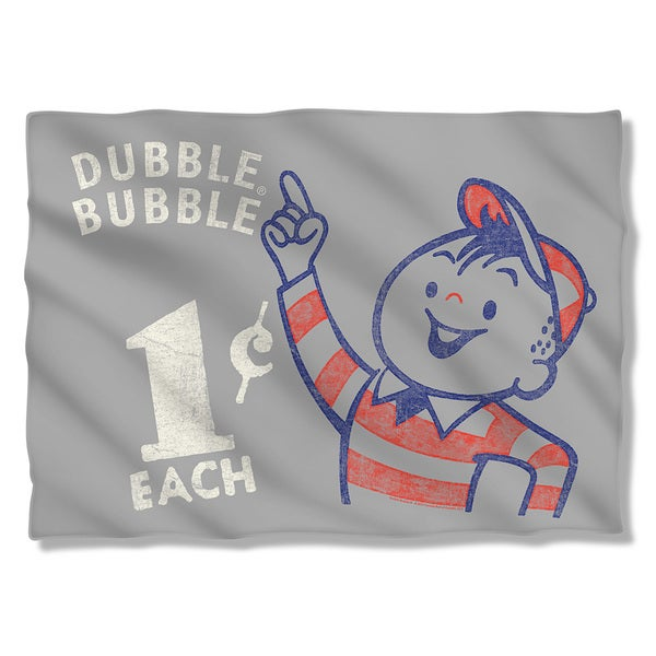 Dubble Bubble/Pointing (Front/Back Print) Pillowcase