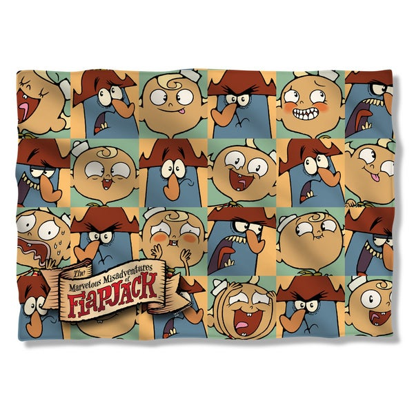 Flapjack/And Captain (Front/Back Print) Pillowcase