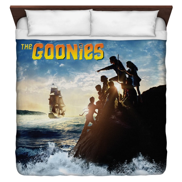 Goonies/Ship Duvet Cover