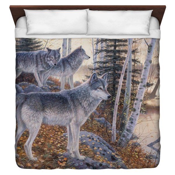 Wild Wings/Silent Travelers 2 Duvet Cover