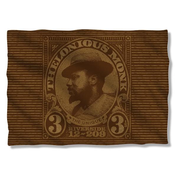 Thelonious Monk/Unique (Front/Back Print) Pillowcase 19681457