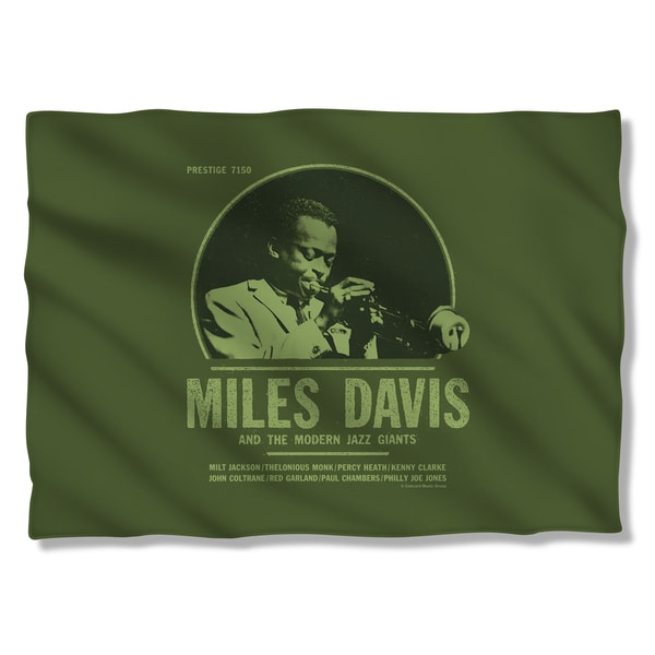 Miles Davis/Green Miles Pillowcase