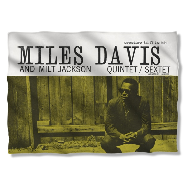Miles Davis/Miles & Milt Pillowcase