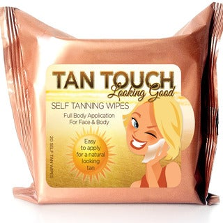Tan Touch Bronze 20-piece Self Tanning Towelettes