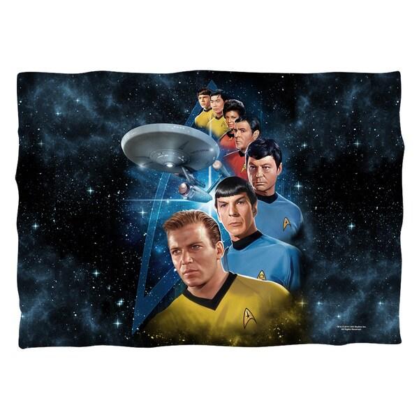 Star Trek/Among The Stars (Front/Back Print) Pillowcase Pillowcase