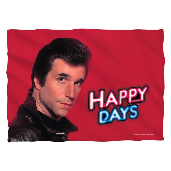 Happy Days/Red Fonz Pillowcase