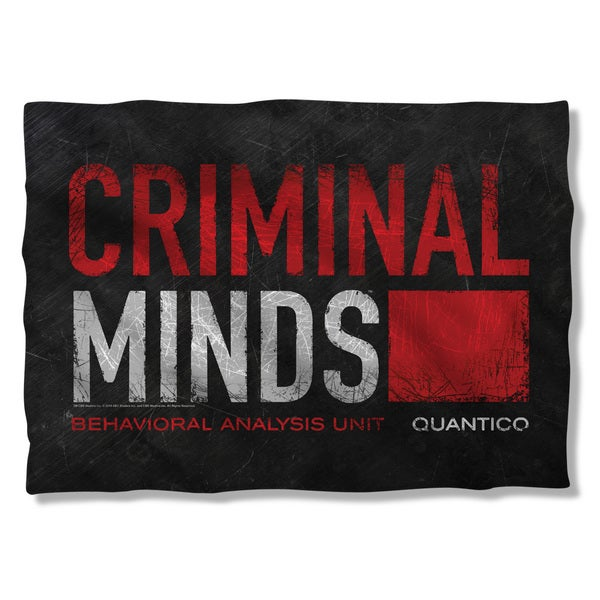 Criminal Minds/Logo Pillowcase