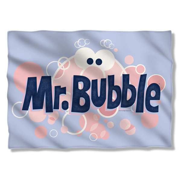 Mr Bubble/Eye Logo Pillowcase
