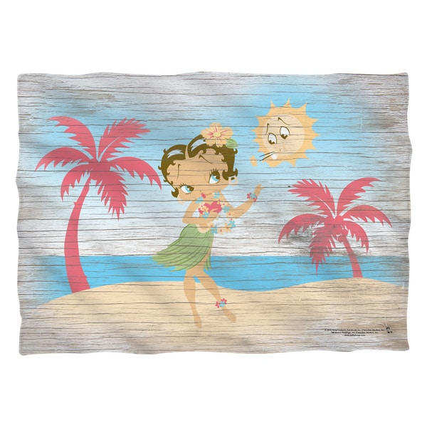 Betty Boop/Hula Boop (Front/Back Print) Pillowcase Pillowcase