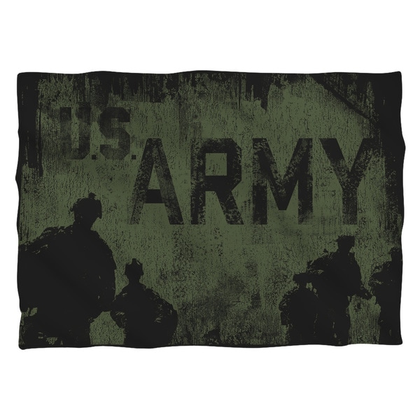 Army/Strong (Front/Back Print) Pillowcase Pillowcase