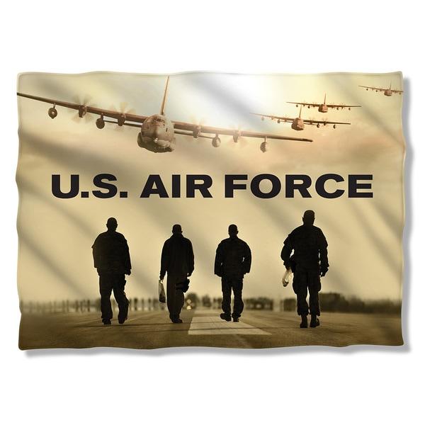 Air Force/Long Walk (Front/Back Print) Pillowcase 19681674