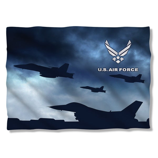 Air Force/Take Off (Front/Back Print) Pillowcase 19681676