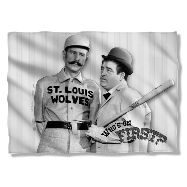 Abbott & Costello/First Pillowcase