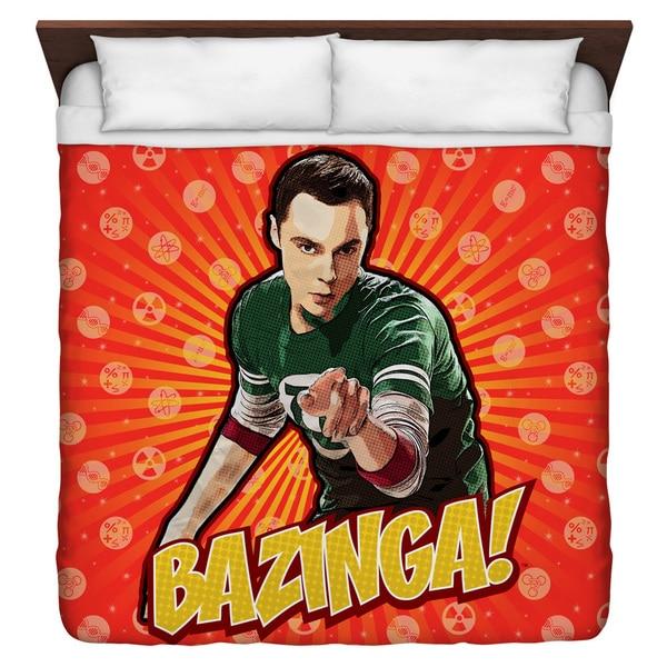 Big Bang Theory Bazinga Duvet Cover