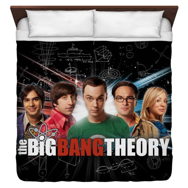 Big Bang Theory Group Spark Duvet Cover