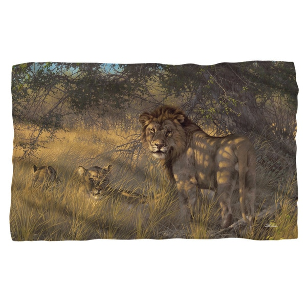 Wild Wings/Ladies & Gentleman 2 Fleece Blanket in White