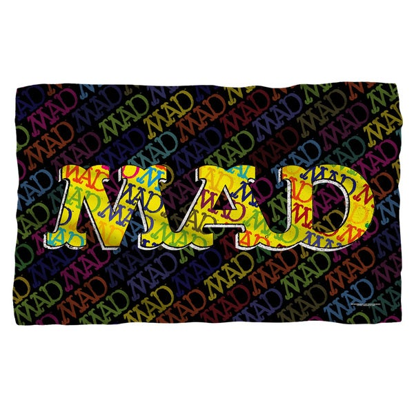 Mad/So Much Mad Fleece Blanket in White