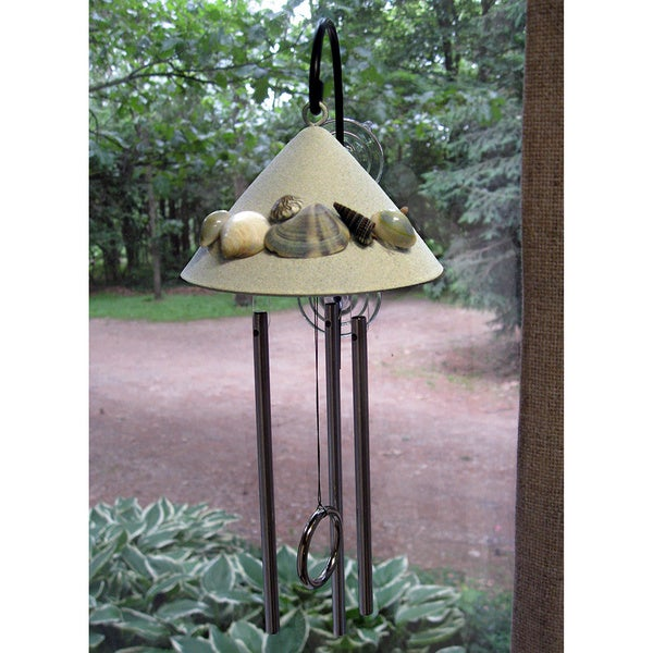 Window Seashell Sprite Solar Powered Indoor Chime 19682612