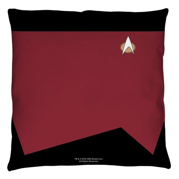 Star Trek/Command Throw Pillow