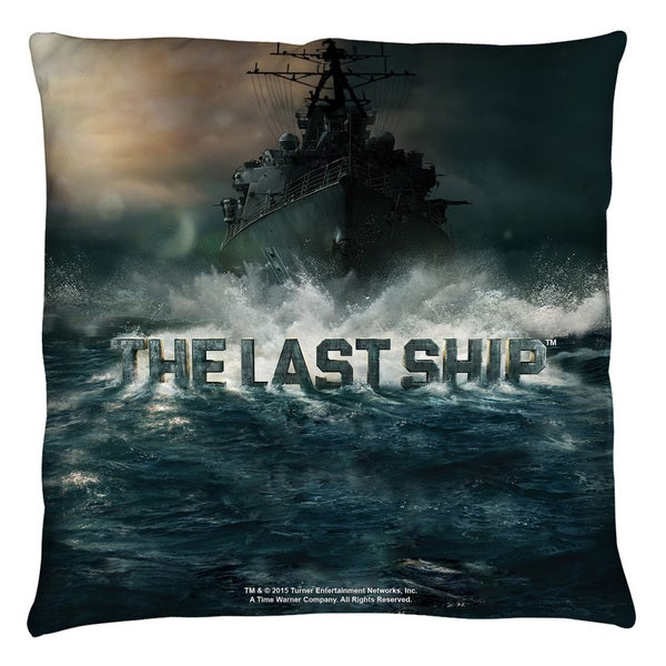 Last Ship/Out To Sea Throw Pillow