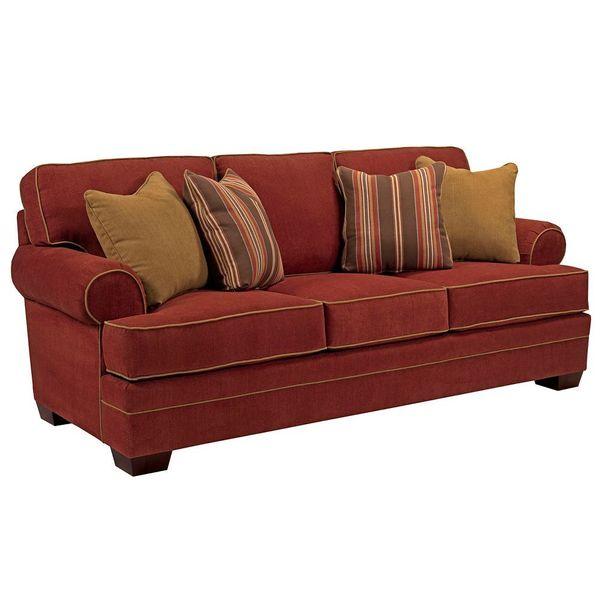 Broyhill Landon Burgandy Sofa