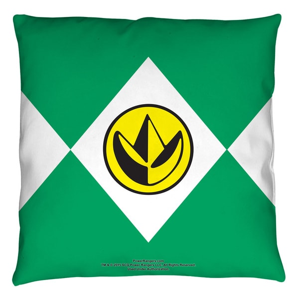 Power Rangers/Green Ranger Throw Pillow