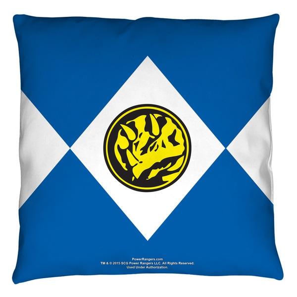 Power Rangers/Blue Ranger Throw Pillow