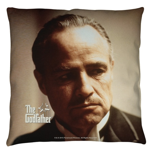 Godfather/Vito Throw Pillow