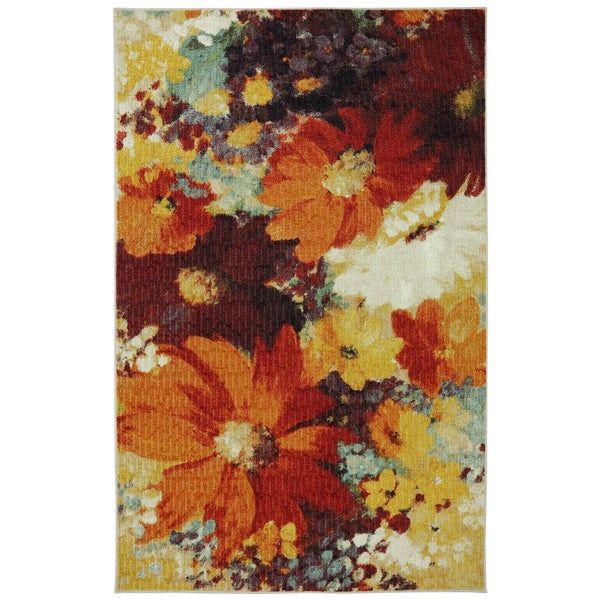 Mohawk Home Connexus Catherine Floral Multi Area Rug (5' x 8')