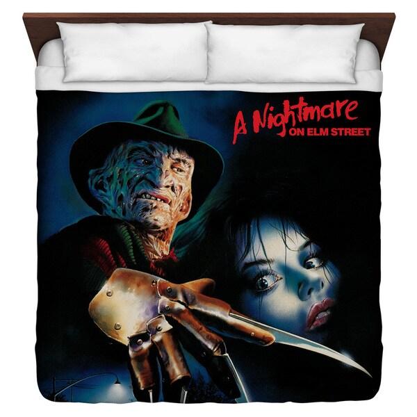 Nightmare On Elm Street/Freddy Poster Duvet Cover