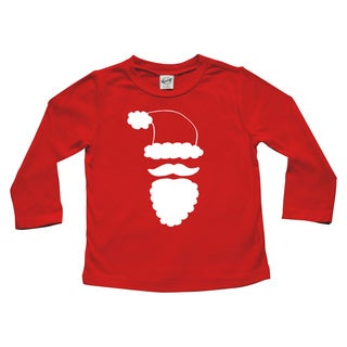 Rocket Bug Santa Claus Christmas Cotton Long Sleeve Shirt