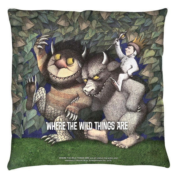 Where The Wild Things Are/Wild Rumpus Dance Throw Pillow