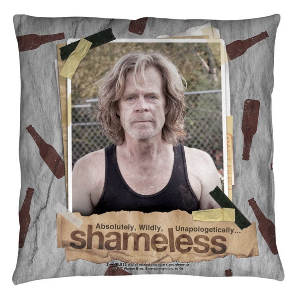 Shameless/Bottles Throw Pillow