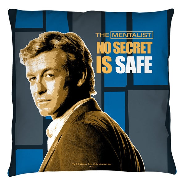 Mentalist/No Secrets Throw Pillow